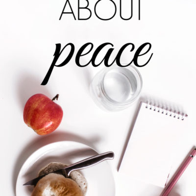 What the Bible Says About Peace