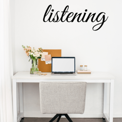 25 Days of God Listening – Reading Plan