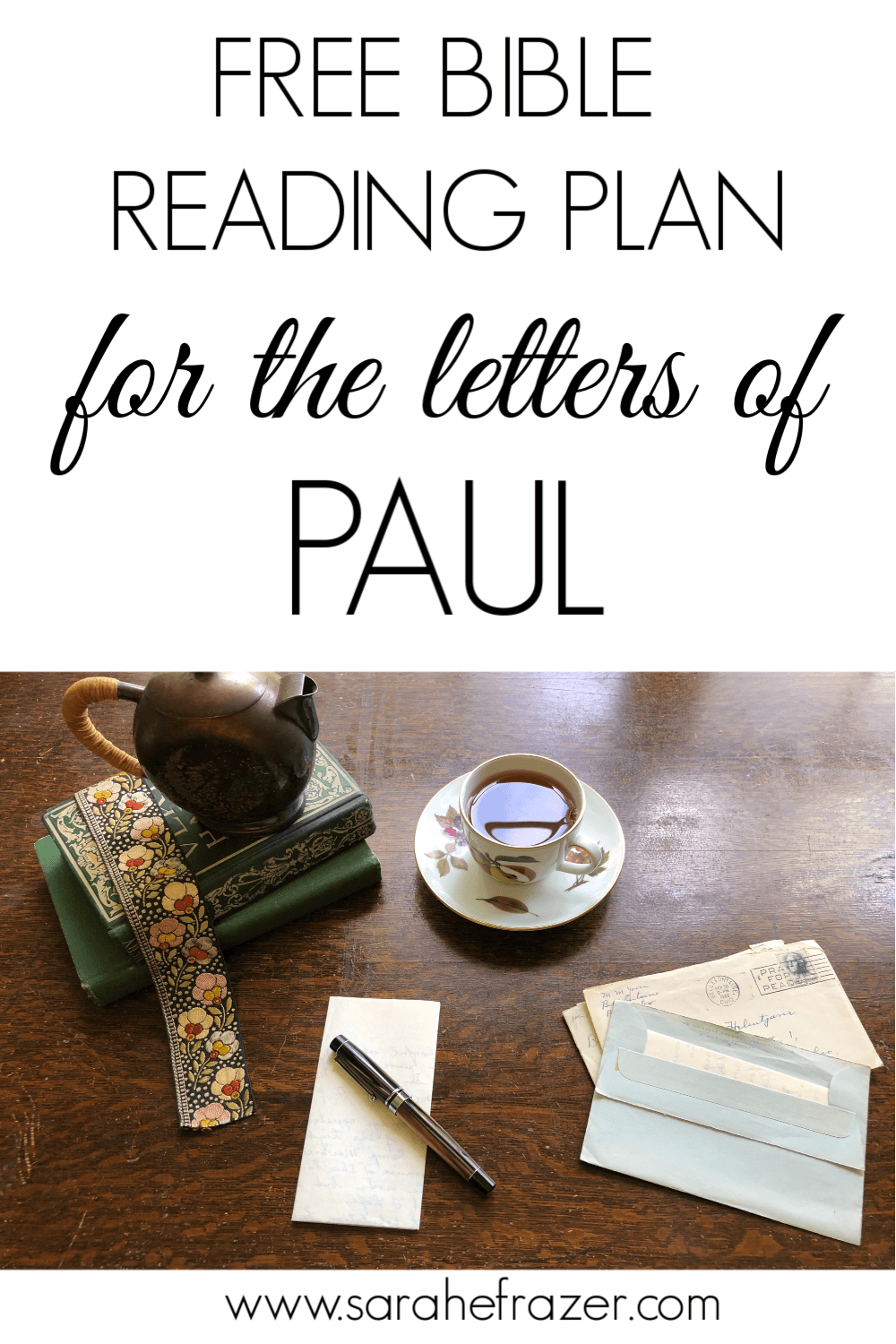A Reading Plan for the Letters of Paul