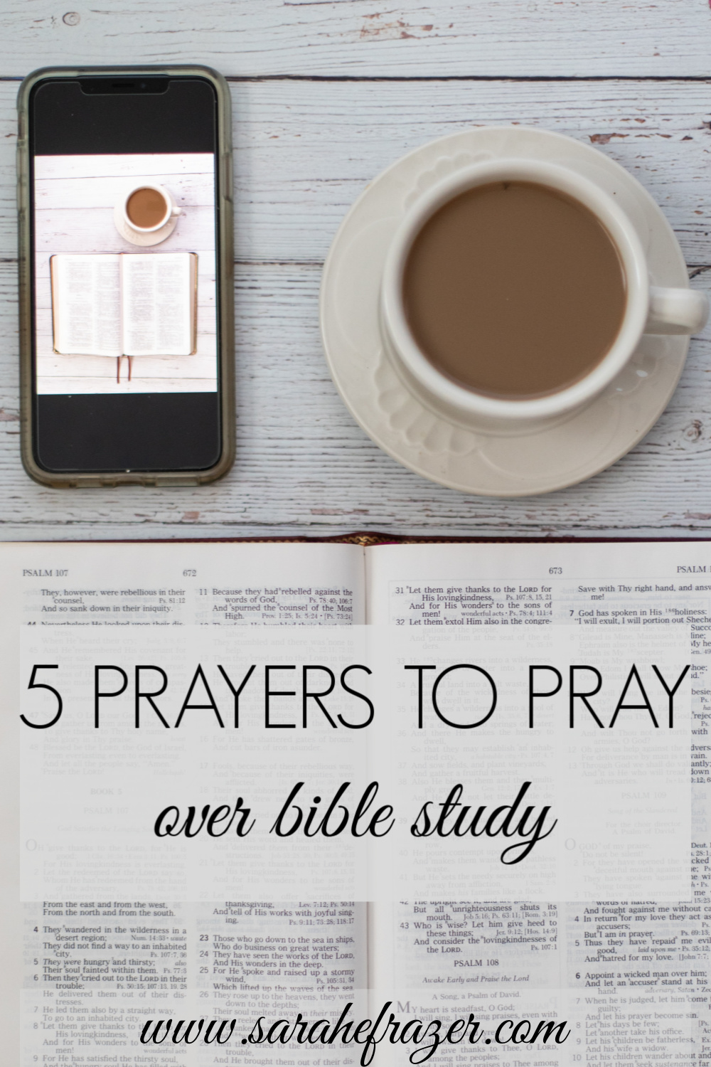 5 (More) Prayers to Pray Over Bible Study