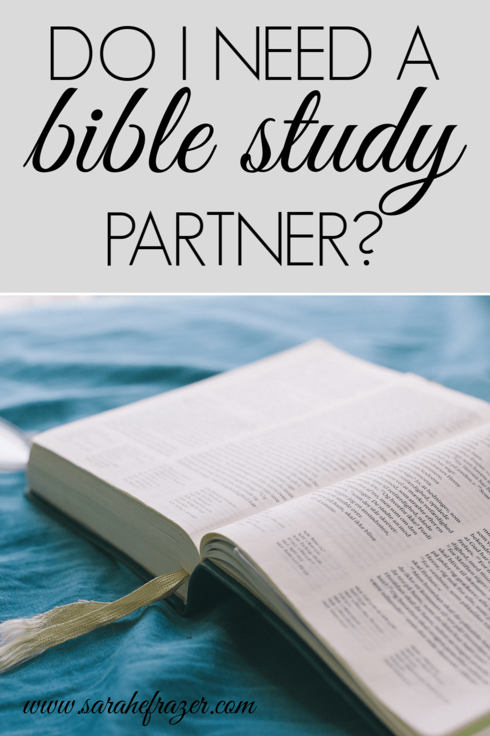 How to Study the Bible for Beginners – Finding a Partner