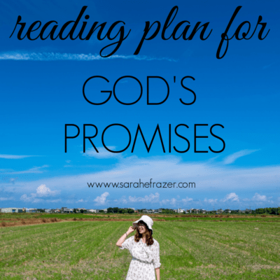 A Bible Reading Plan for God's Promises