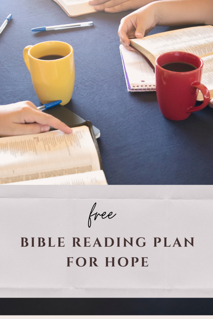 BIble Reading Plan for Hope