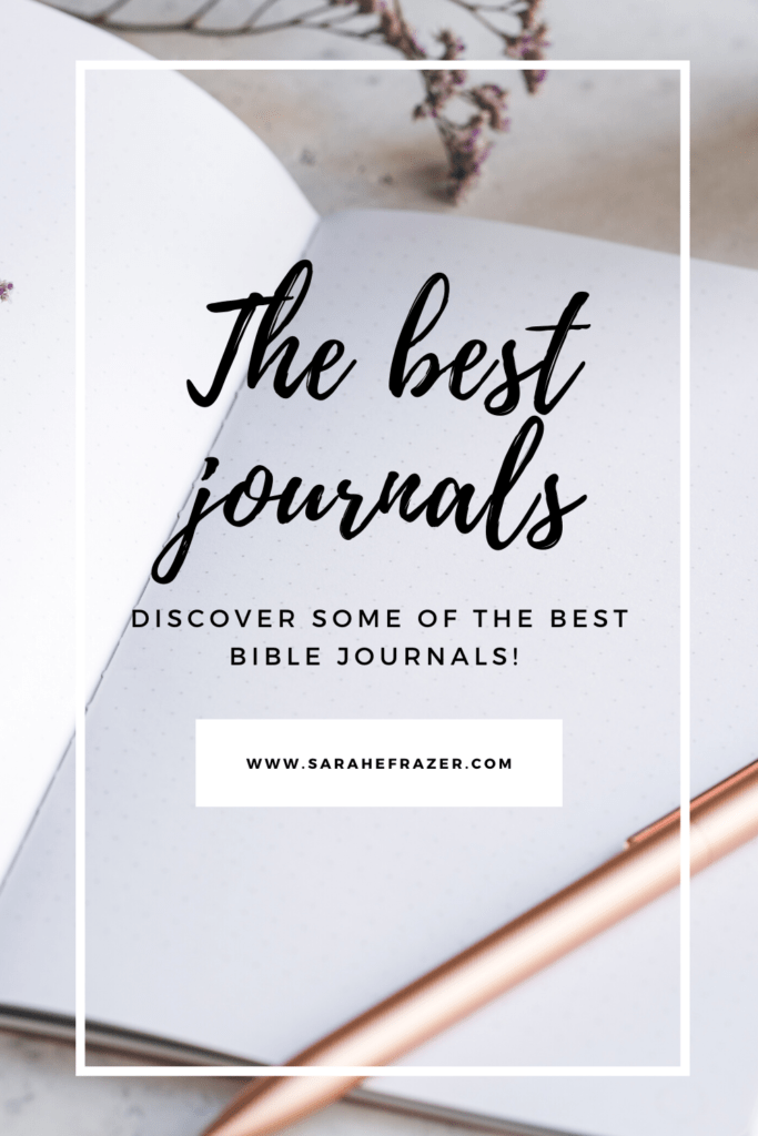 Discover some of the best Bible journals