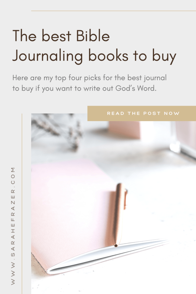 The best Bible journaling books to buy