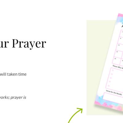 The Hidden Work of Prayer